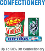 Up to 50%25 Off Confectionery