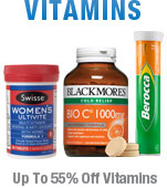 Up to 55%25 Off Vitamins