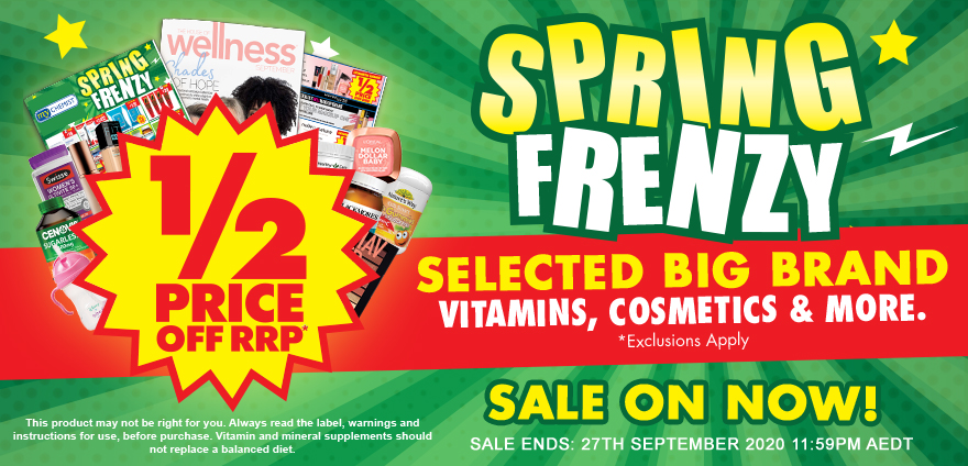 Spring Frenzy Catalogue Out Now!