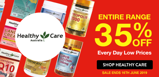 35% OFF HEALTHY CARE ENTIRE RANGE