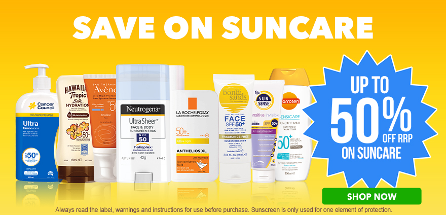Save on Suncare